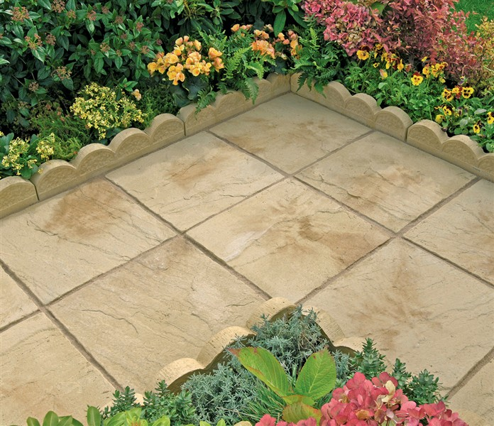 Pool surrounds paving for africa for Pool garden edging